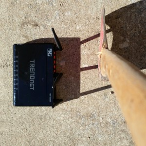 Router and Axe
