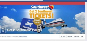 Southwest Airlines Ticket SCAM