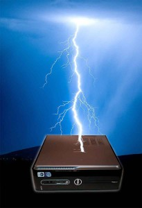 Lightning Strikes Your Computer